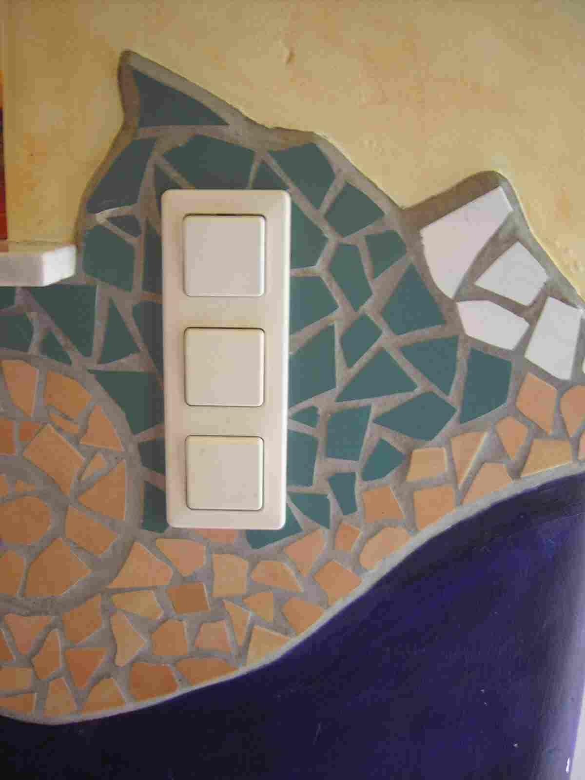 Lichtertr ume traumlichter - Wand mit mosaik gestalten ...